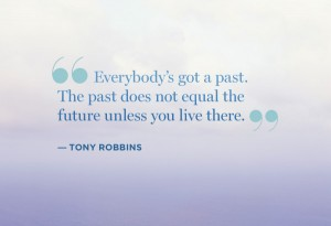 Stop living in the past, it will affect your future!