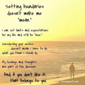 Setting boundaries and focusing on yourself does not make you selfish.