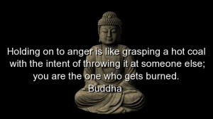 Who are you really hurting when you are angry?