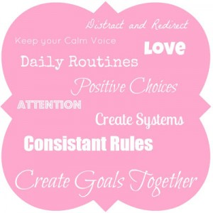Create goals together with your children.