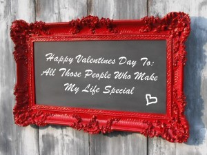 Spend Valentine's Day with people who make your life special