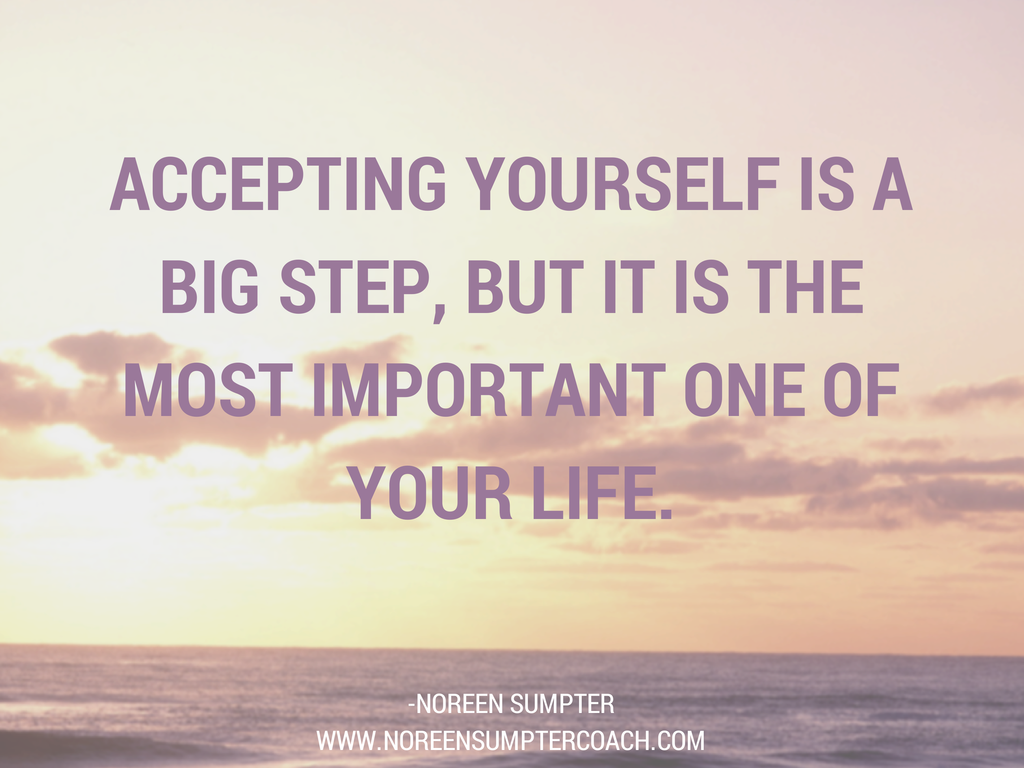 accepting yourself How can the answer be improved.